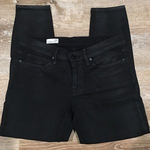GAP Black Shimmer Legging Jean
